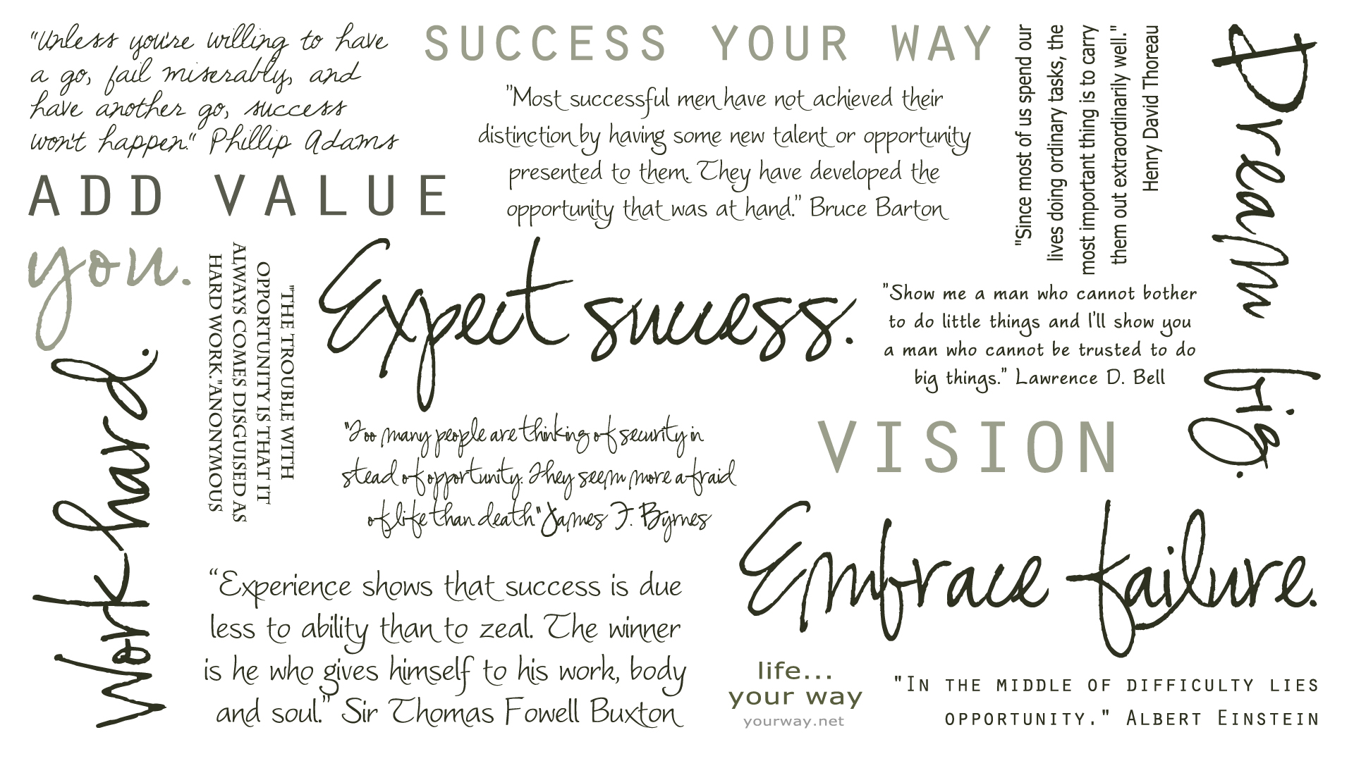 Motivational Quotes Printable Desktop Background Life Your Way