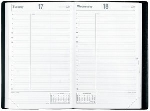 photograph regarding Large Daily Planner identified as Picking a Planner: Quo Vadis Study + Giveaway \u003e Lifestyle Your Course