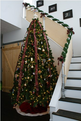 Our Christmas Tree and Garland