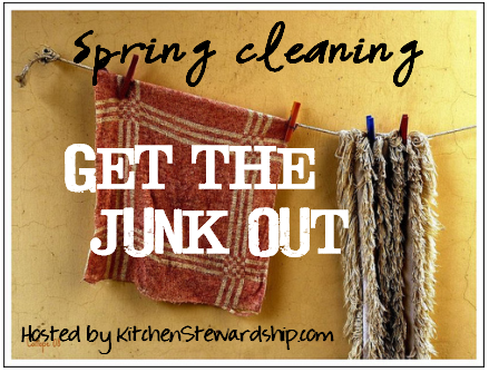 Spring Cleaning: Get the Junk Out