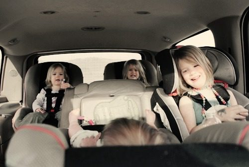 getting out of the house with kids