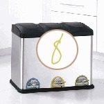decorative recycle bins