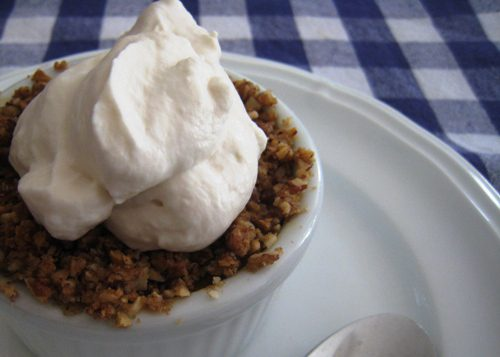 Streusel-Topped Pumpkin Custards