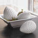bone china pinecones
