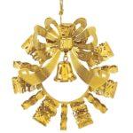 Danbury gold ornament for 2010