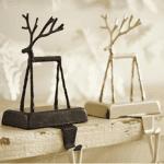 Twig stocking holder
