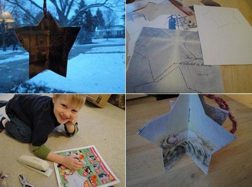 Christmas card craft