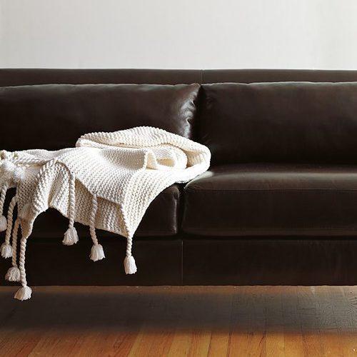 throw on sofa