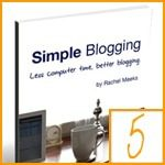 blogging books