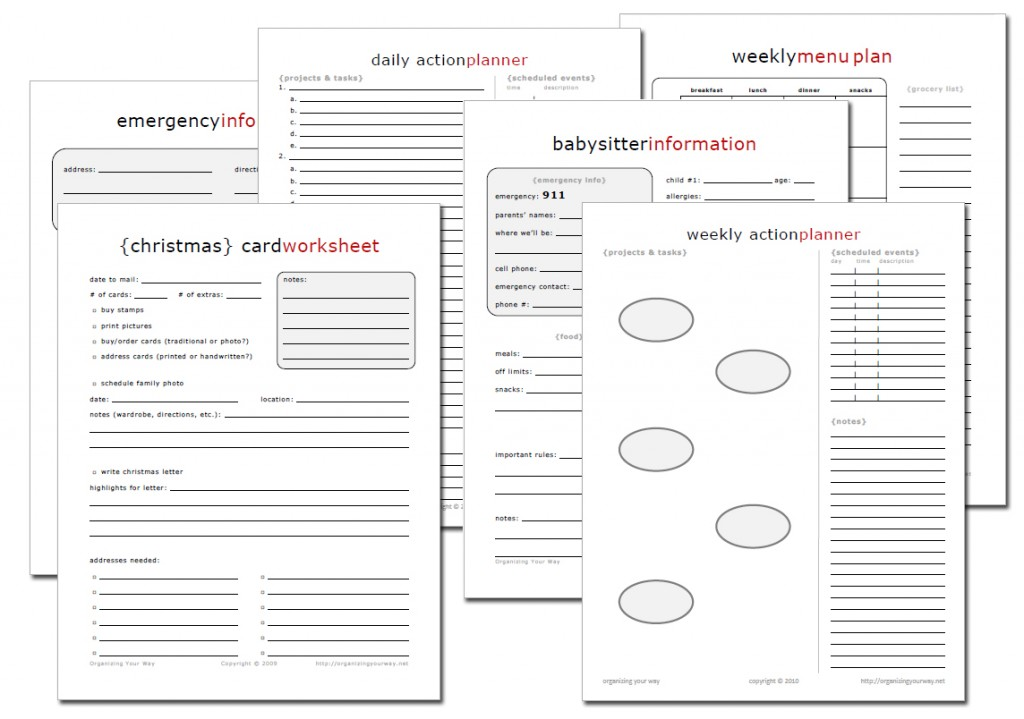 New Printable Download Packs Available – Free Business Printables