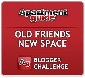 old friends new space blogger challenge