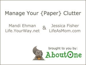 Read more about the article Manage Your Paper Clutter: Organizing Paper Files (+ Keepsy Giveaway!)