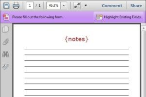 Read more about the article Printable Note Pages for Your Home Management Notebook