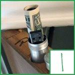 hide your cash & valuables
