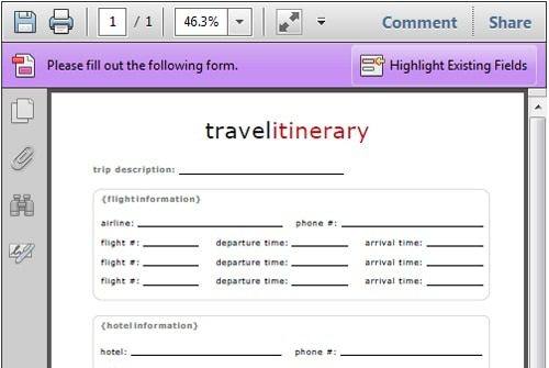 keep track of travel with a free printable itinerary life your way
