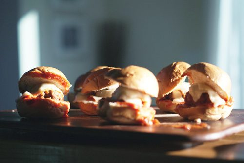 easy homemade meatball sliders