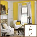 decorating with yellow