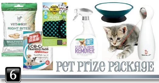 grateful giveaways pet package