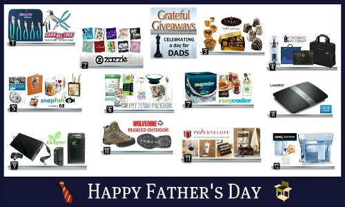 grateful giveaways father's day event