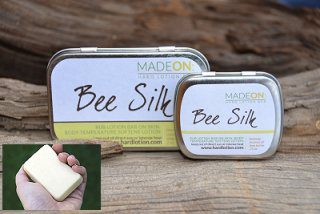 beesilk hard lotion bars