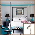 caribbean blue decor