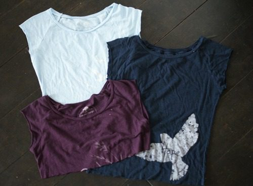 repurposed t-shirts