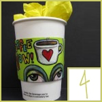 repurposed coffee sleeve crafts