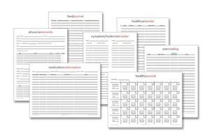 Read more about the article Free Printables: Health Journal, Physician Inventory + More