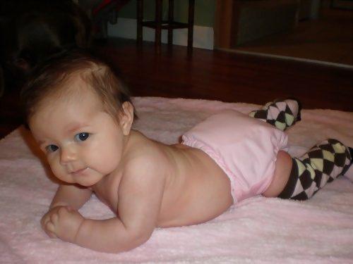 cloth diaper baby 2