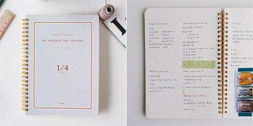 1-4 quartered notebook