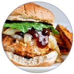 barbecue-chicken-burgers