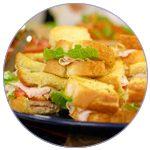 turkey-caesar-sandwiches