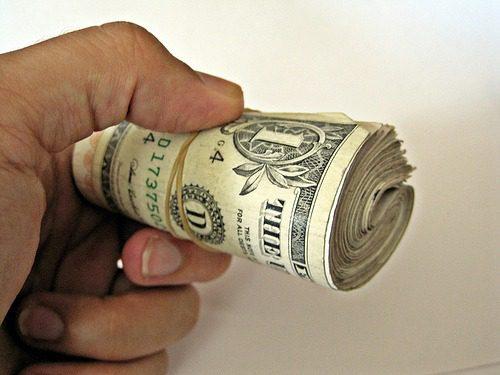Roll of $1 bills