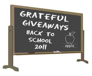 grateful giveaways back to school