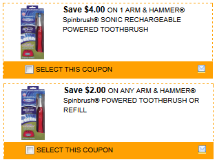 spinbrush coupons