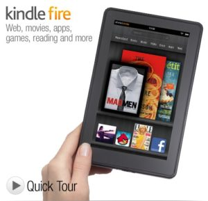 Amazon Release Several New Kindles + Kindle Fire Tablet