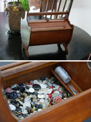 Heirloom Button Box