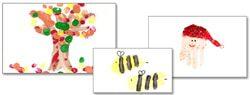 101 Days of Christmas: Handprint Calendars