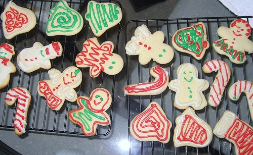 ways to decorate sugar cookies - Decorating Sugar Cookies For Christmas Pictures