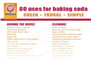 60 Uses for Arm & Hammer Baking Soda (Enter to Win a $25 Visa Gift Card!)