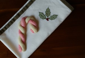 101 Days of Christmas: Candy Cane Cookies