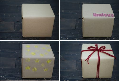 101 Days of Christmas: Kraft Paper Wrapping