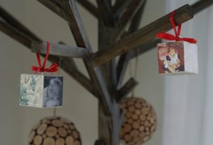 101 Days of Christmas: Photo Block Ornaments