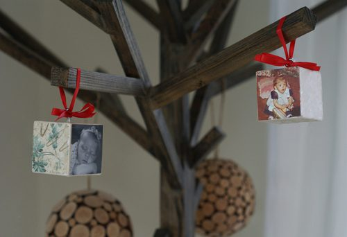 You are currently viewing 101 Days of Christmas: Photo Block Ornaments