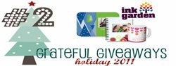 Grateful Giveaways #2: $100 InkGarden Gift Certificate