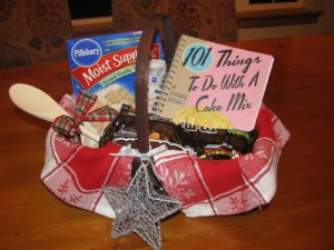 Read more about the article 101 Days of Christmas: Themed Gift Baskets