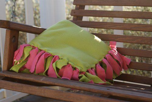 101 Days of Christmas: Fleece Fringe Blankets