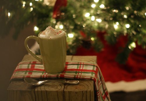 101 Days Of Christmas Peppermint Hot Chocolate Amp Whipped