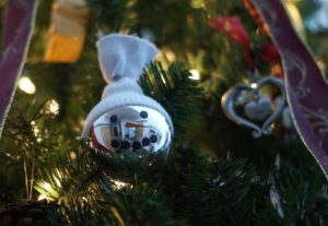 101 Days of Christmas: Snowman Ornament