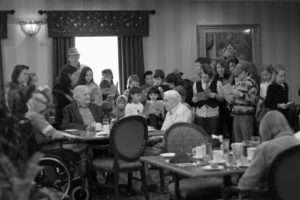101 Days of Christmas: Visit a Nursing Home